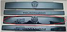 "Зимняя накладка Volkswagen T4 2000-2003 на решетку радиатора глянцевая ""FLY"", фото 3"