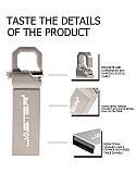 Металева водонепроникна флешка 32 ГБ у формі брелока JASTER USB 2.0, фото 4