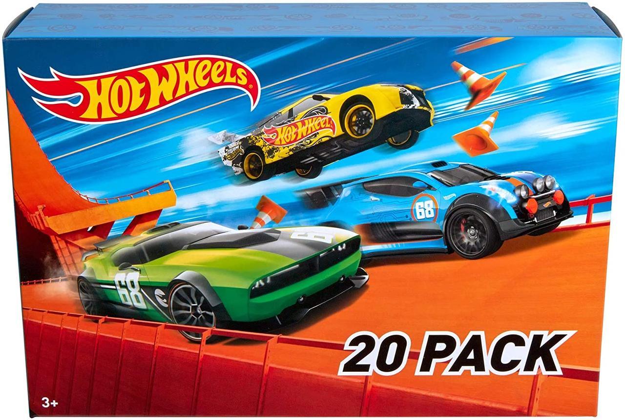 Подарочный набор Хот Вилс 20 машинок Hot Wheels 20 Cars Gift Pack