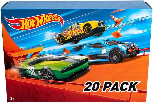 Подарочный набор Хот Вилс 20 машинок Hot Wheels 20 Cars Gift Pack, фото 2