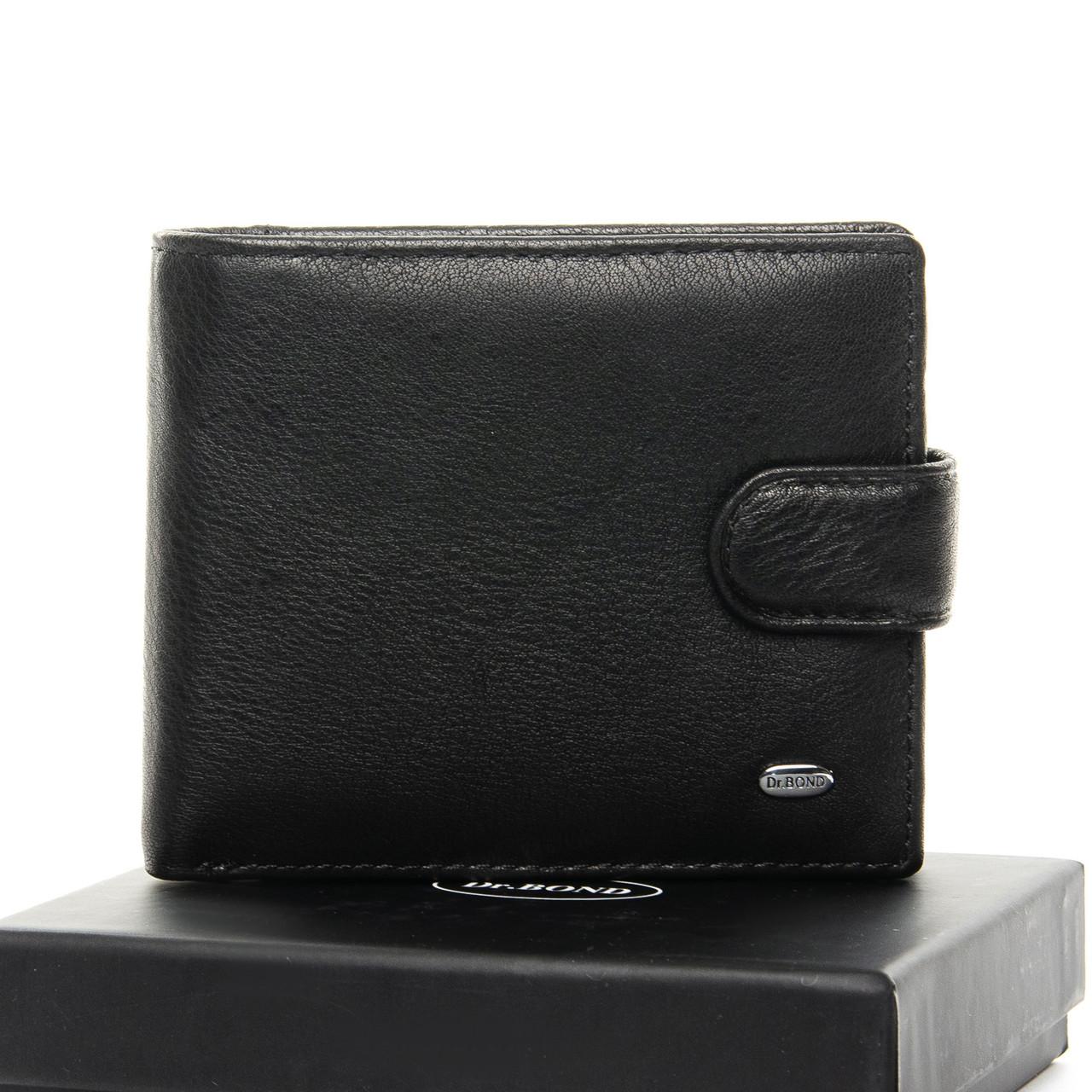 Кошелек Classic кожа DR. BOND M59-1 black