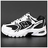 Кроссовки New Balance 530 White Black, кроссовки нью беленс 530, кросівки New Balance 530, кроссовки NB 530