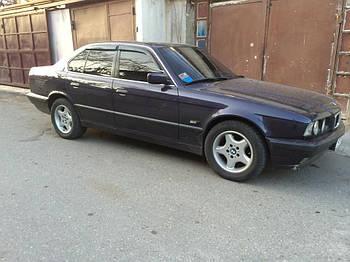 Дефлекторы окон (ветровики) BMW 5 (E34) sd 1988-1995