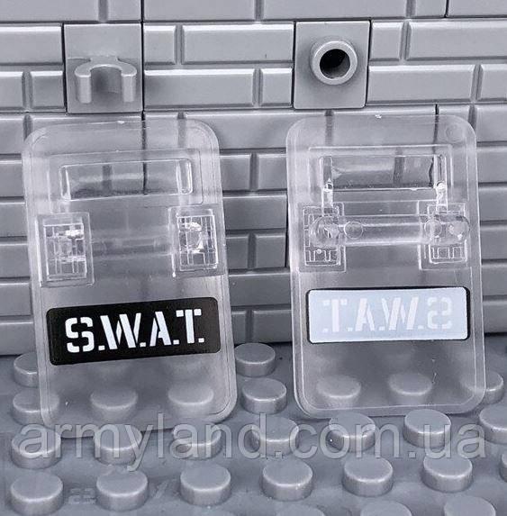 Прозрачный щит защиты  1шт. SWAT  аксессуары для конструктора  Лего