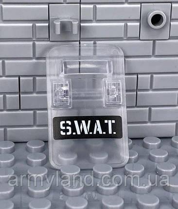 Прозрачный щит защиты  1шт. SWAT  аксессуары для конструктора  Лего, фото 2