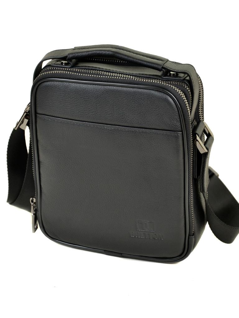 Сумка Мужская Планшет кожаный BRETTON BE 5078-5 black