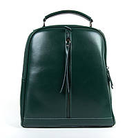 Сумка Женская Рюкзак кожа ALEX RAI 9-01 8694-3 green, фото 1