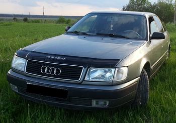 Дефлектор капота (мухобойка) Audi 100 ( 45кузов С4) 1990-1994