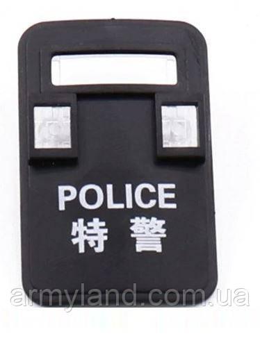 Черный щит защиты  1шт. POLICE  аксессуары для конструктора  Лего