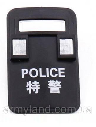 Черный щит защиты  1шт. POLICE  аксессуары для конструктора  Лего, фото 2