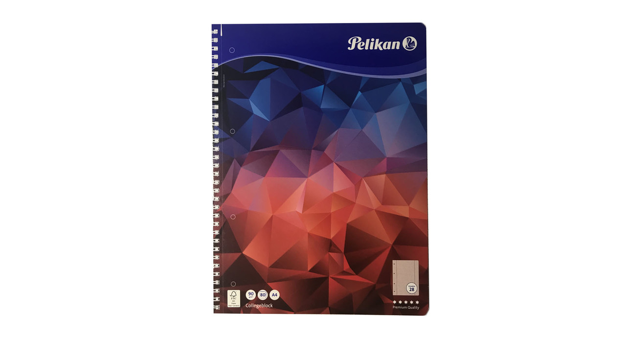 Тетрадь в клетку Pelikan А4 80 листов