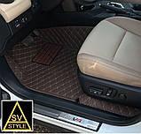 Коврики на Toyota RAV4 Кожаные 3D (2013-2018), фото 5