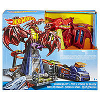 Игровой набор  Hot Wheels Атака дракона  DWL04, фото 1