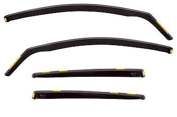 Дефлектори вікон (вітровики) Peugeot 308 II 5D 2013 / вставні, 4шт/