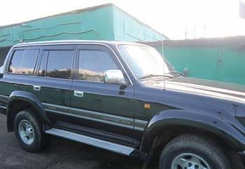 Дефлекторы окон (ветровики) TOYOTA Land Cruiser 80 1989-1998/Lexus LX (FZJ80) 1996-1997