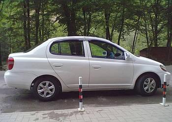 Дефлекторы окон (ветровики) TOYOTA Platz 1999-2005/Toyota Echo 2000-2005