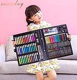 Набор для творчества детский 228 предметов Mega Art Set | Детский набор для рисования | Набор юного художника, фото 4