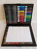 Набор для творчества детский 228 предметов Mega Art Set | Детский набор для рисования | Набор юного художника, фото 5