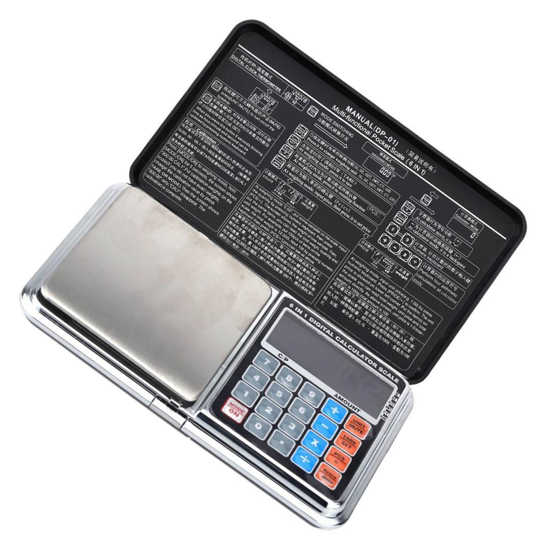 Ювелирные весы DP-01 1000g/0.1g