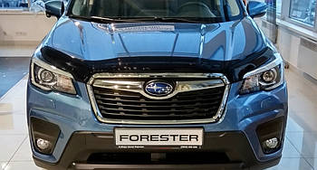 Дефлектор капоту (мухобійка) Subaru Forester 2018-