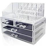 Настольный ящик органайзер для хранения косметики GUT Storage Box, фото 3