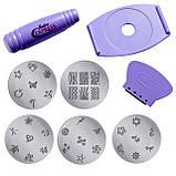 Маникюрный набор для узоров Nail Art Stamping Kit, набор для стемпинга, стемпинг, фото 4
