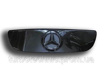 Зимняя накладка (глянцевая) Mercedes Sprinter 2006-2014 (решетка)