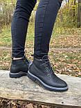 Женские зимние ботинки Ecco оригинал натуральная кожа 36, фото 9