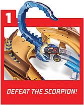 Трек Хот Вилс Жало скорпиона GNB05 Hot Wheels Monster Trucks Scorpion, фото 3