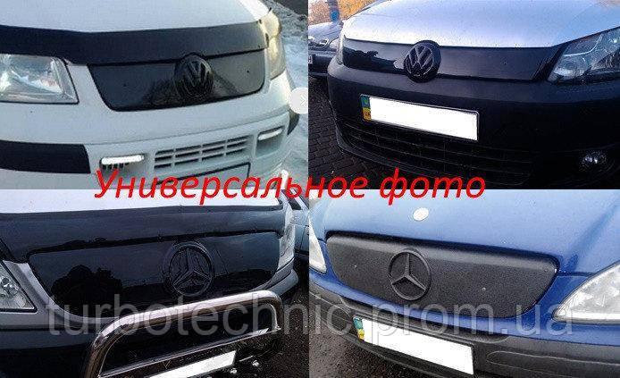 Зимняя накладка (глянцевая) Renault Kangoo 2008-2013 (низ)