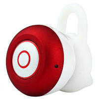 Bluetooth гарнитура Mini 6 Bluetooth V4.1 Режим работ. 3-5 ч. White-Red
