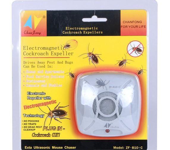 Ультразвуковой отпугиватель тараканов 810+C(оригинал)