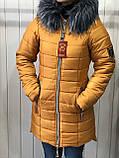 Куртка жіноча зимова Парку Софі, фото 4