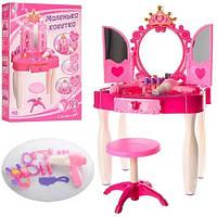 Детское зеркало трюмо 661 21. Тематические игровые наборы. Мебель для девочек. Туалетный столик для косметики
