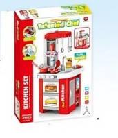Детская Кухня 922-48 с аксессуарами Звуковые и Световые эффекты 49 деталей Красная HOT
