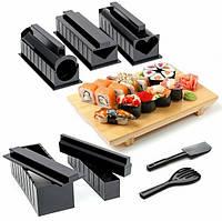 Подарочный набор машинка для приготовления еды суши и роллов МИДОРИ MIDORI аппарат 5 в 1 для дома