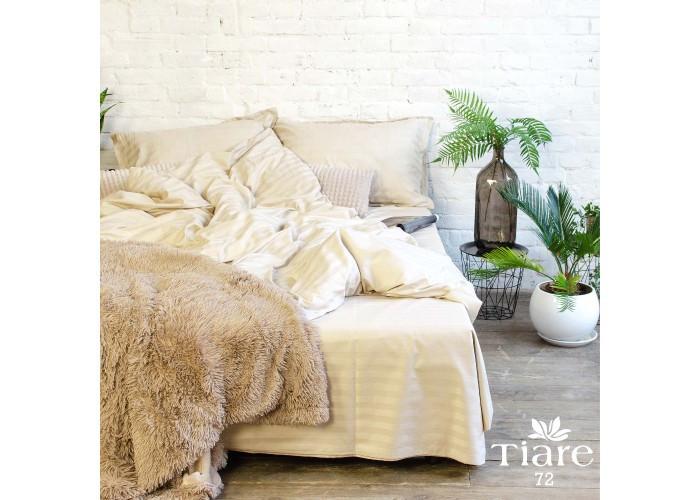 Комплект постельного белья Евро Сатин Stripe 72 Tiare™