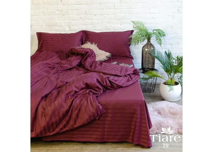 Комплект постельного белья Евро Сатин Stripe 79 Tiare™
