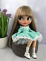 Лялька Блайз/ Blythe, кастом, набір одягу+підставка