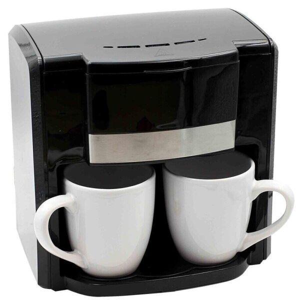 Кофеварка капельная Rainberg RB-613 с 2 керамическими чашками 500 Вт