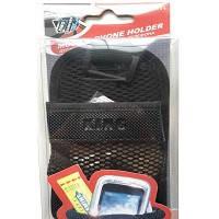 Карман  для телефона сетка KH 804  черный