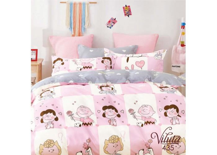 Комплект постельного белья подростковий Вилюта Сатин Twill 435