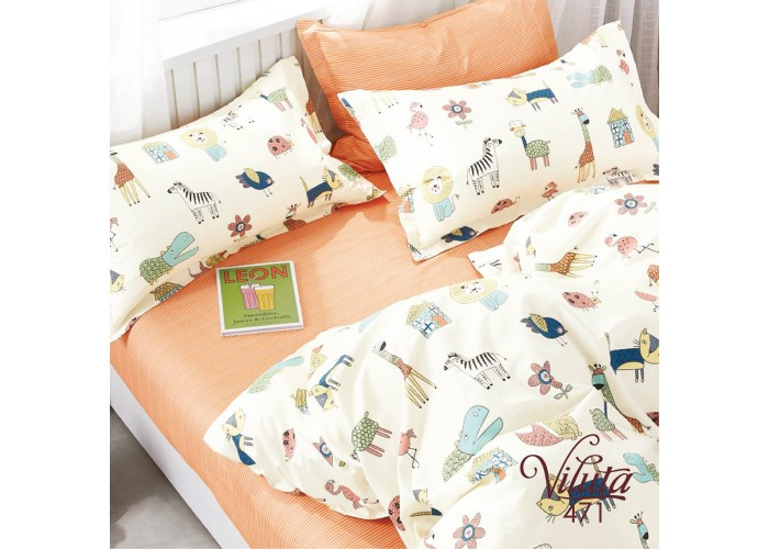 Комплект постельного белья подростковий Вилюта Сатин Twill 471