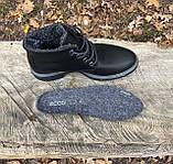 Женские зимние ботинки Ecco оригинал натуральная кожа 41, фото 5