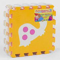 Коврик-пазл НК 006 массажный, 9шт в упаковке, 30х30см