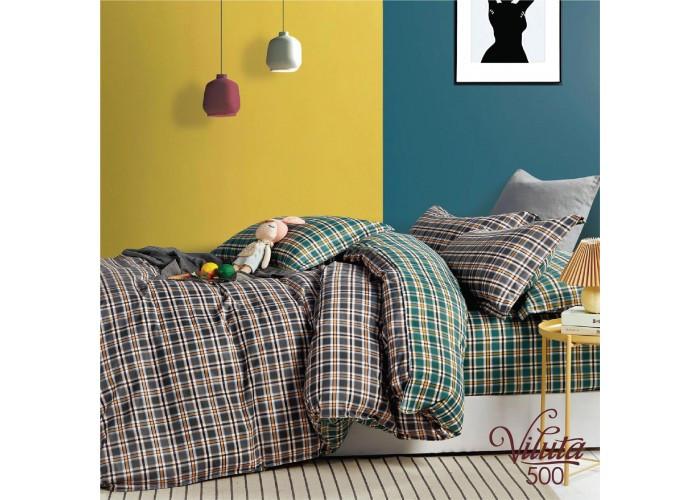 Комплект постельного белья семейный Вилюта Сатин Twill 500