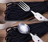 Набор туриста ложка-вилка-нож, фото 5