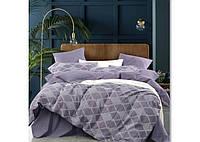 Комплект постельного белья Евро вареный хлопок Wash Jacquard 15 Tiare™, фото 1