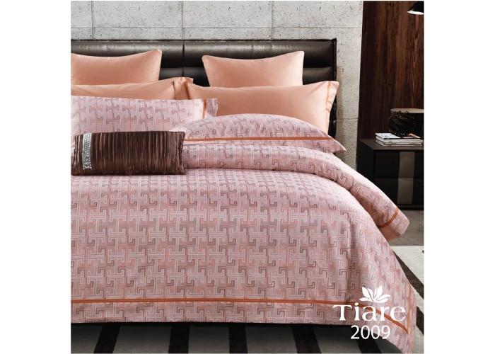 Комплект постельного белья Евро Сатин Жаккард 2009 Tiare™