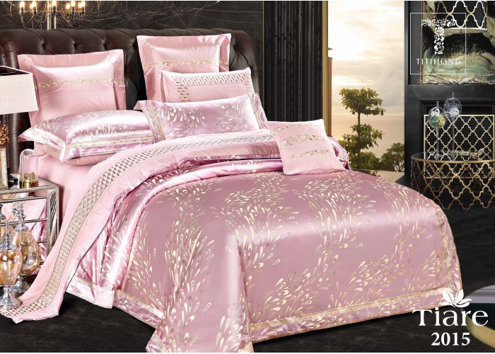 Комплект постельного белья Евро Сатин Жаккард 2015 Tiare™
